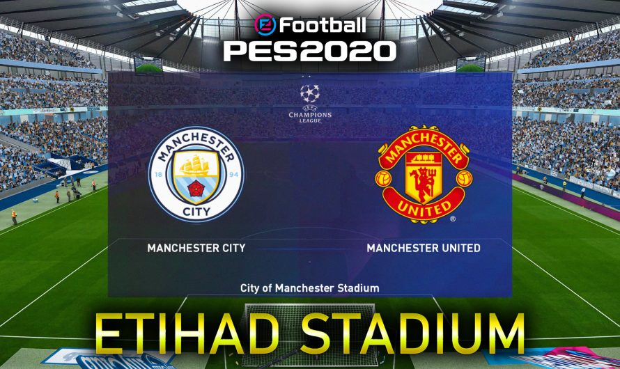 City of Manchester Stadium ( Etihad) PES 2020 – MJTS