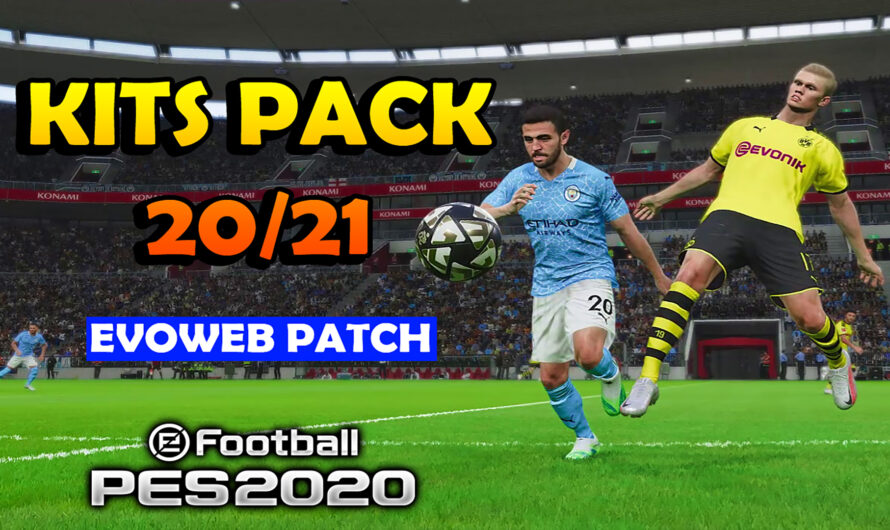 KITS PACK 20/21 para PES 20 by GDB | EVOWEB PATCH