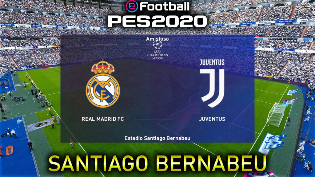 estadio del real madrid pes 2020