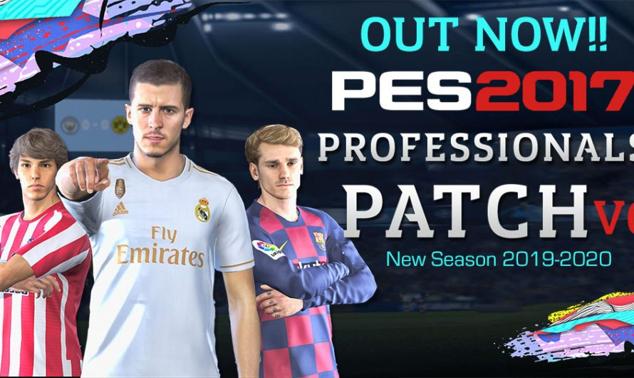 PES 2017 Professionals Patch V6