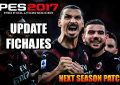Update fichajes next season patch