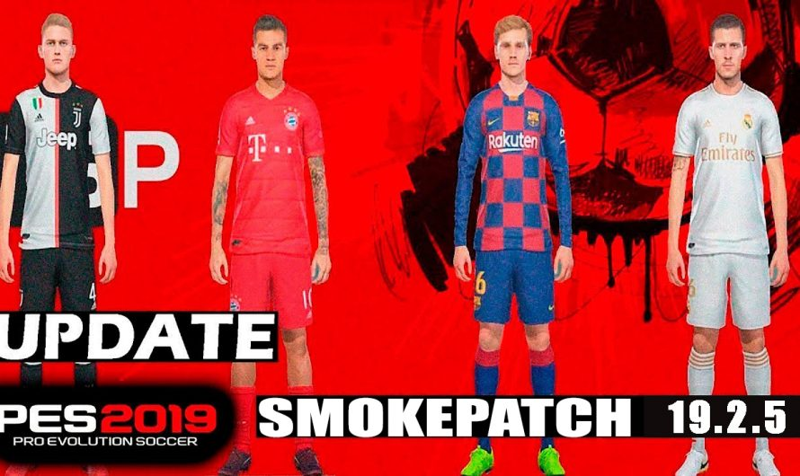 Update Smokepatch 19.2.5| Pes 19 Pc