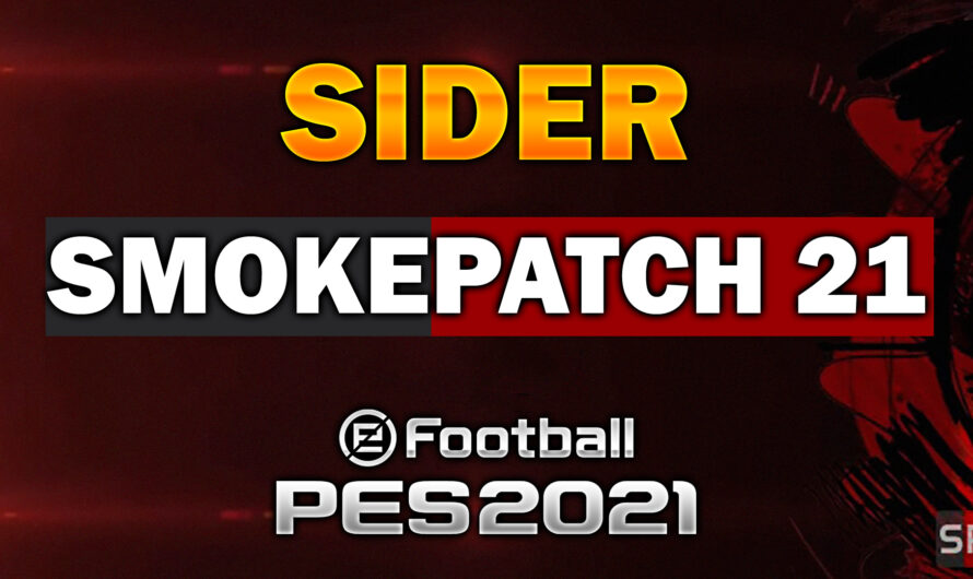 SIDER para SMOKEPATCH PES 21 Pc